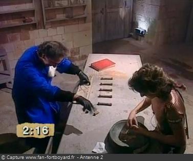 Fort Boyard - Vendeur d'indices - Cellule 203 (1991)