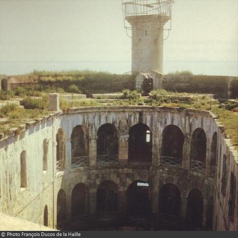 Le Fort Boyard à l'abandon dans les années 80