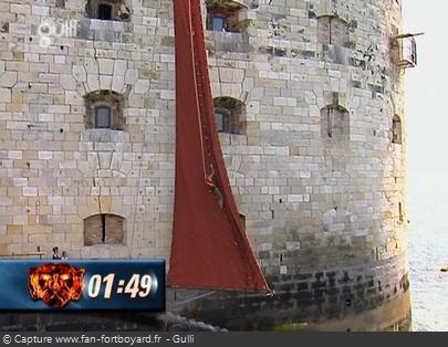 Fort Boyard - Voile