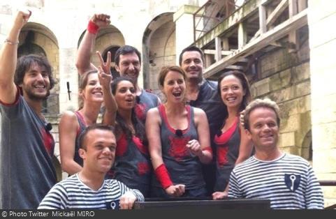 Fort Boyard 2012 - Tournage émission 6