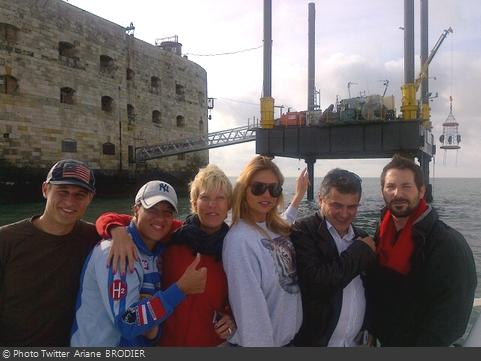 Fort Boyard 2012 - Tournage émission 7