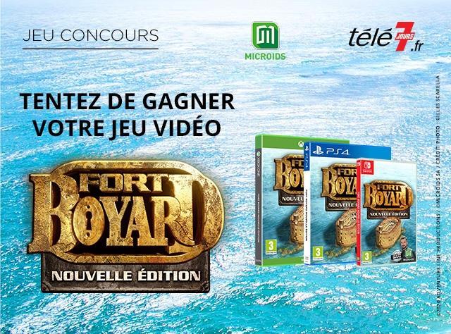 Jeu-concours web Fort Boyard Télé 7 jours