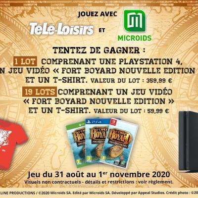 Jeu-concours web Fort Boyard Télé Loisirs