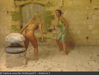 Les Clés de Fort Boyard 1990 : La nouvelle épreuve de la Lutte dans la boue