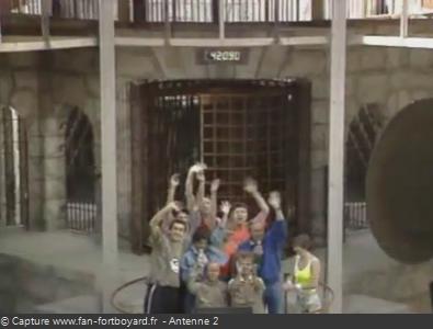 Les Clés de Fort Boyard 1990 : L'émission se termine depuis la pesée