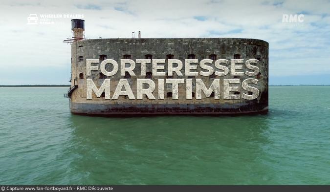 Documentaire Les forteresses maritimes avec Fort Boyard sur RMC Découverte