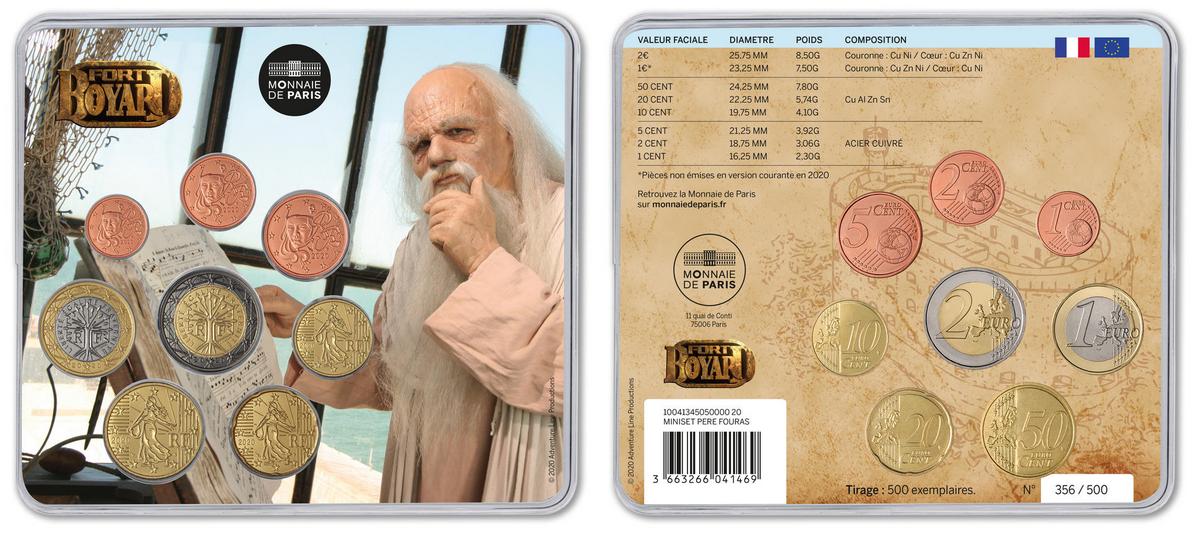 Miniset avec le Père Fouras dans la vigie - Monnaie de Paris (2020)