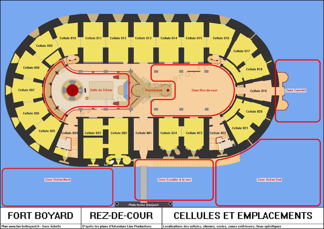 Fort Boyard - Rez-de-cour
