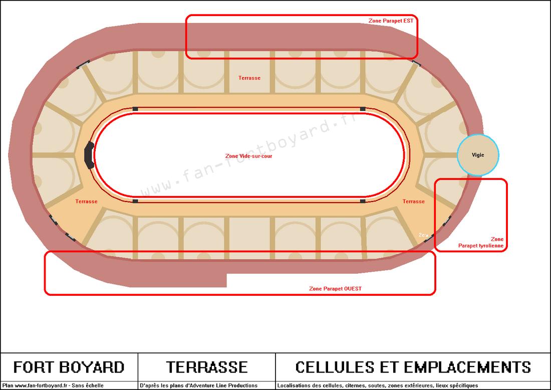 Fort Boyard - Terrasse