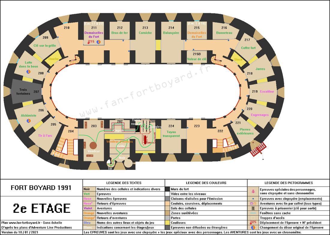 Fort Boyard 1991 - 2e étage