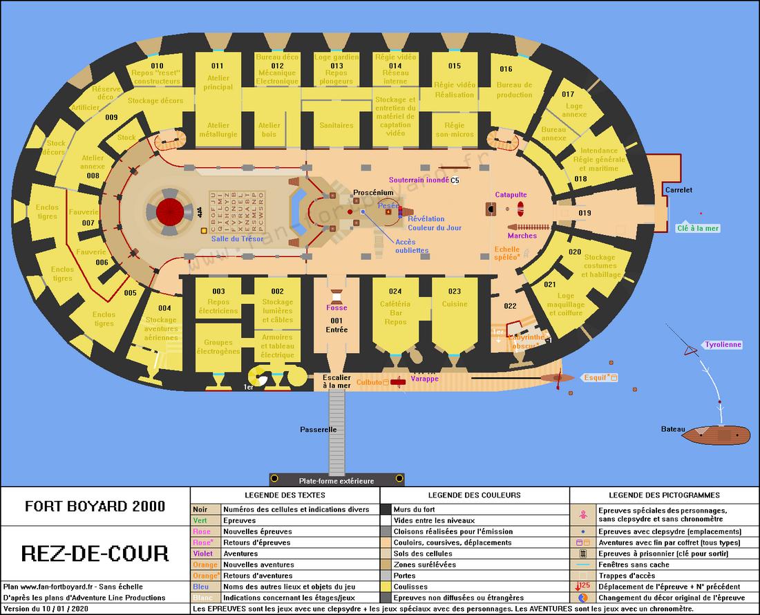 Fort Boyard 2000 - Rez-de-cour