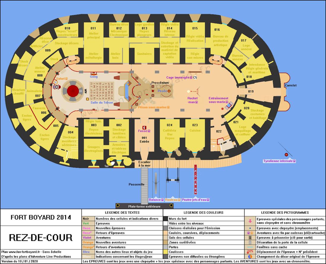 Fort Boyard 2014 - Rez-de-cour