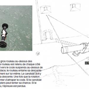 Fort Boyard 2014 : Présentation du Rouleau