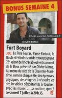 Fort Boyard 2012 dans Télé 2 semaines n°221