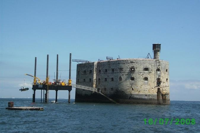 Fort Boyard 2008 : Le tour du Fort de Gauthier