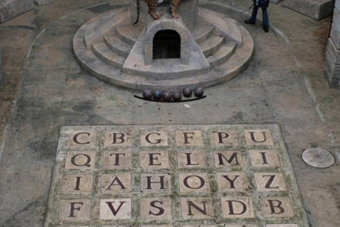 L'alphabet de la Salle du Trésor