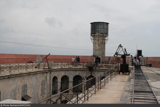La visite du Fort Boyard 2007 de Bertrand